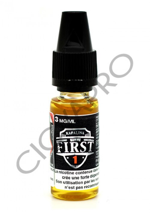 E-liquide FIRST 1 - Kapalina