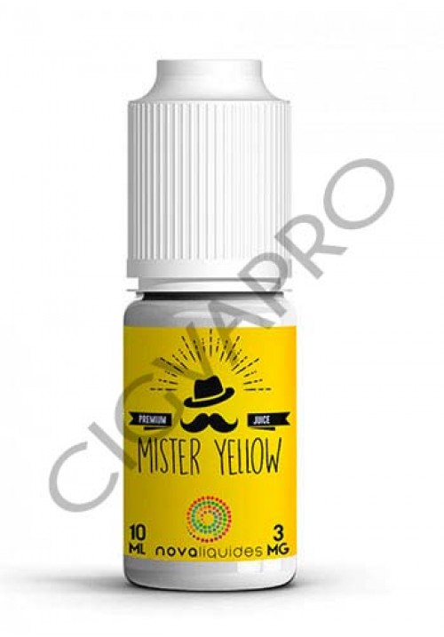 E-liquide Mister Yellow 10ml - Nova