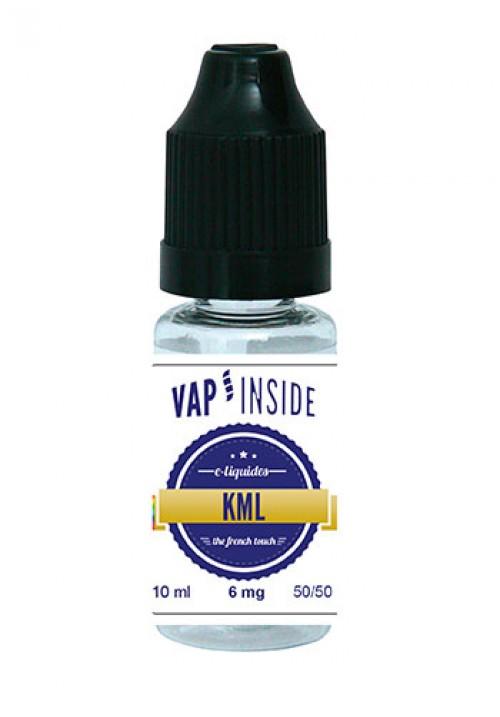 E-liquide KML - vap'inside