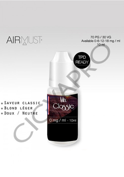 tabac classic mix-airmust 10ML