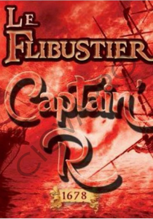 Eliquide Captain'r 10ml - Le Flibustier