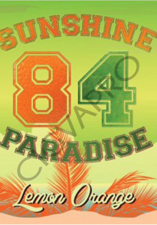Concentré LEMON ORANGE 30ml- sunshine 84 paradise