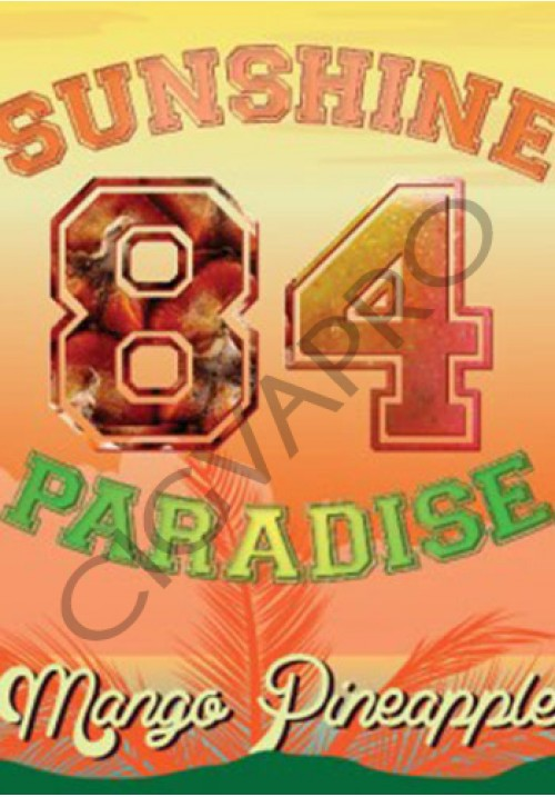 Concentré MANGO PINEAPPLE 30ml- sunshine 84 paradise