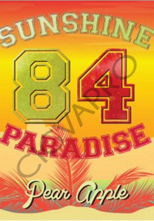 Concentré PEAR APPLE 30ml- sunshine 84 paradise
