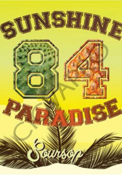 Concentré SOURSOP 30ml- sunshine 84 paradise