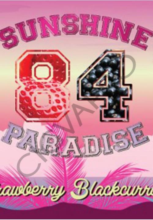 Concentré STRAWBERRY BLACKCURRANT 30ml- sunshine 84 paradise