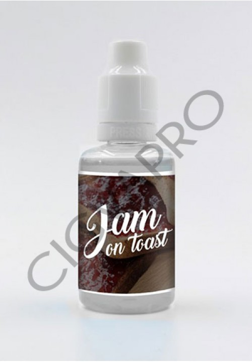 Concentré JAM ON TOAST 30ml - vampire vape