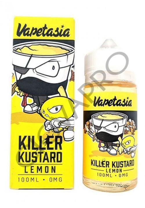 killer kustard lemon 100ml vapetasia