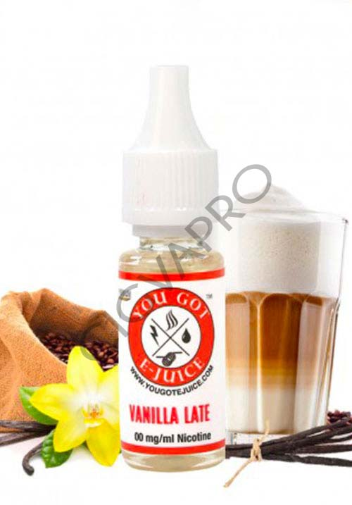 Eliquide VANILLA LATTE - You Got