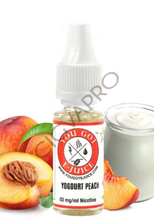 E-liquide YOGURT PEACH 10ml - You Got