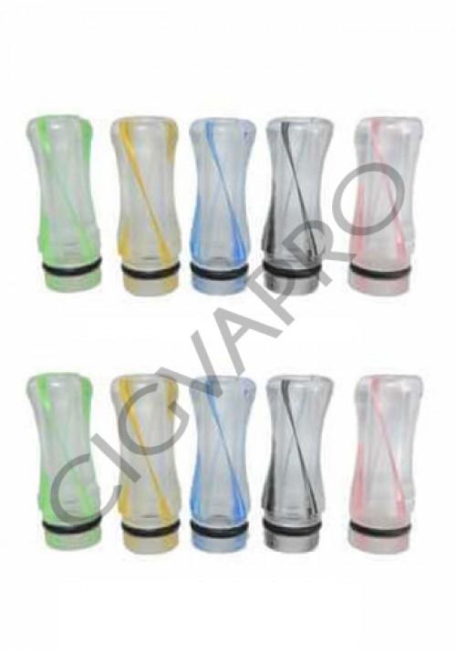 Drip tip 510 cheminee plastique EGO