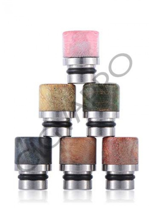 STABILIZED WOOD DRIP TIP 510 DT2