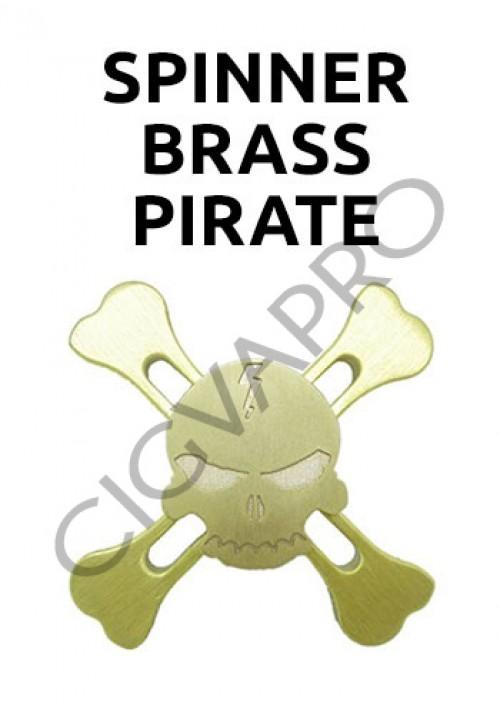 Spinner Brass Pirate