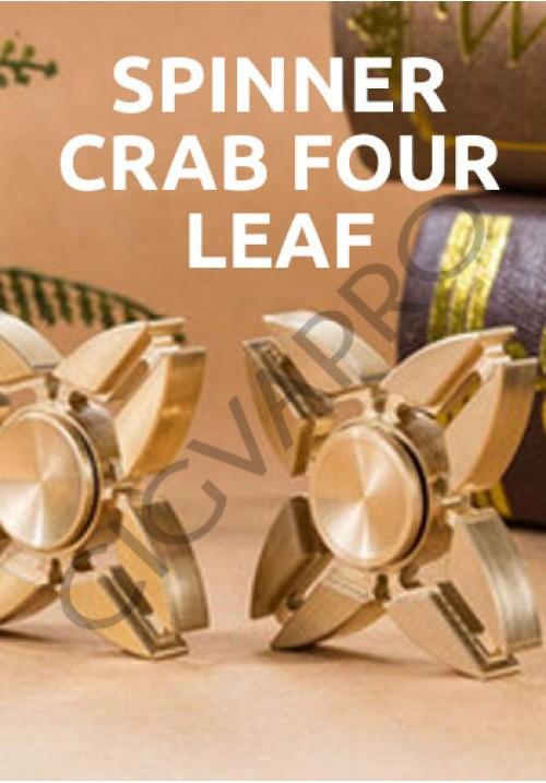 Spinner Crab Four Leaf