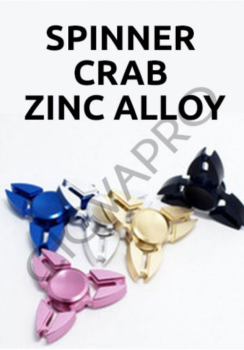 Spinner Crab Zinc alloy