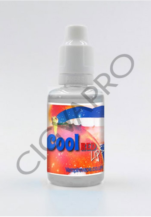 Concentré COOL RED LIPS 30ml - vampire vape