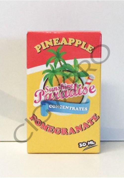 Concentré PINEAPPLE POMEGRANATE 30ml - Sunshine Paradise