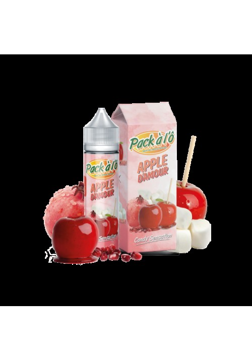 E-liquide APPLE D'AMOUR  50ml - Pack à l'ô