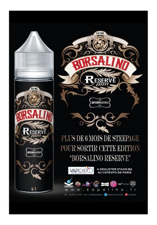 E-liquide BORSALINO RESERVE  50ml - Best Aromanie