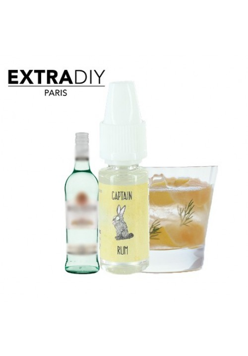 Concentré CAPTAIN RUM 10 ml  by  ExtraDiy