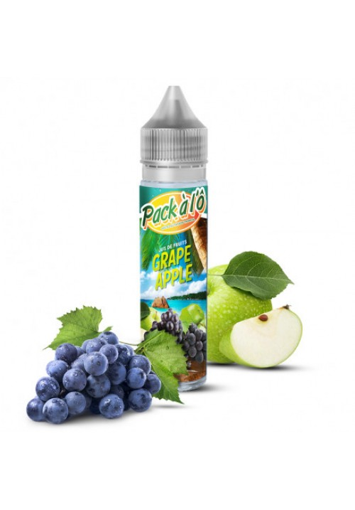 E-liquide GRAPE APPLE V2 50ml - Pack à l'ô