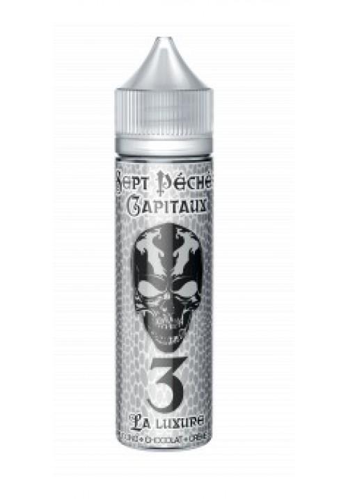 E-liquide LUXURE 50ml - les 7 péchés capitaux