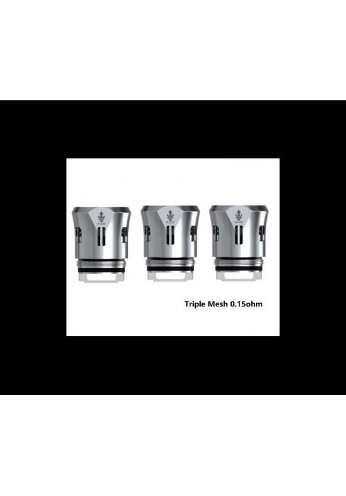 Qua - Résistances TFV12 Prince Triple Mesh par 3 - Smok