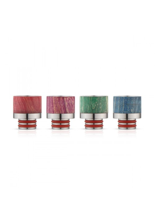 STABILIZED WOOD DRIP TIP 510 DT3