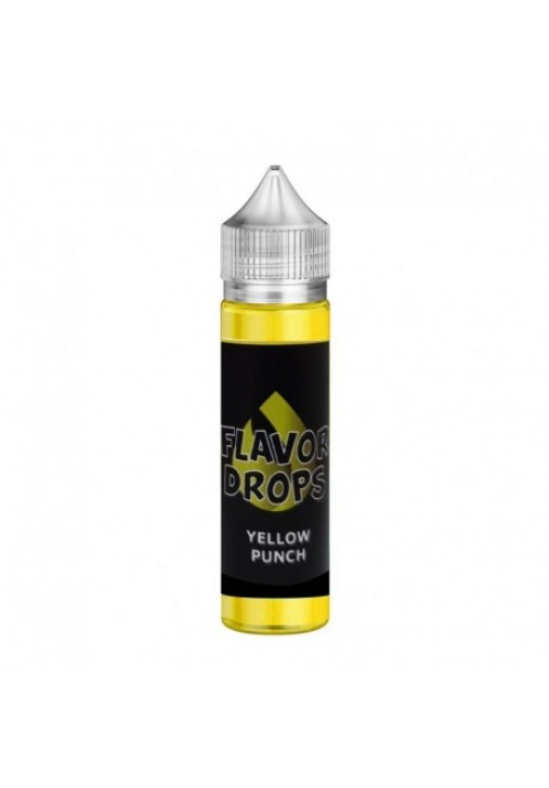E-liquide Yellow Punch 50ml flavor drops